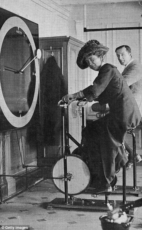 泰坦尼克号上的健身中心图片