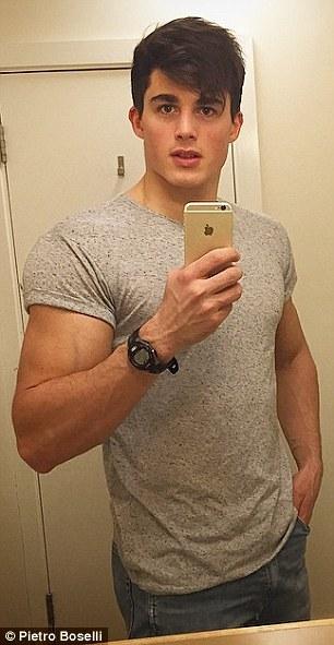 大学数学老师做肌肉男模轰动校园