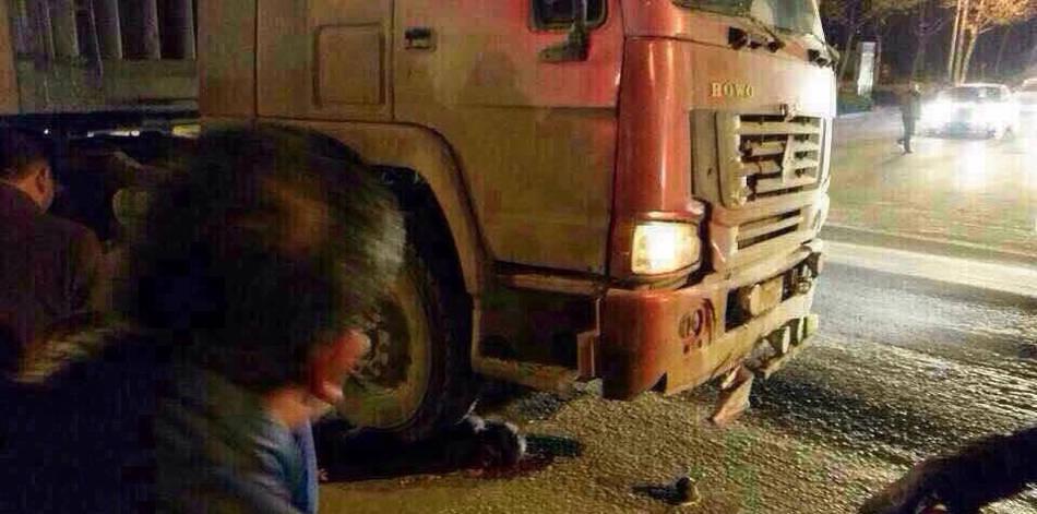 河南:一初中生遭大初中身亡碾压现场遇见的以为题货车作文图片