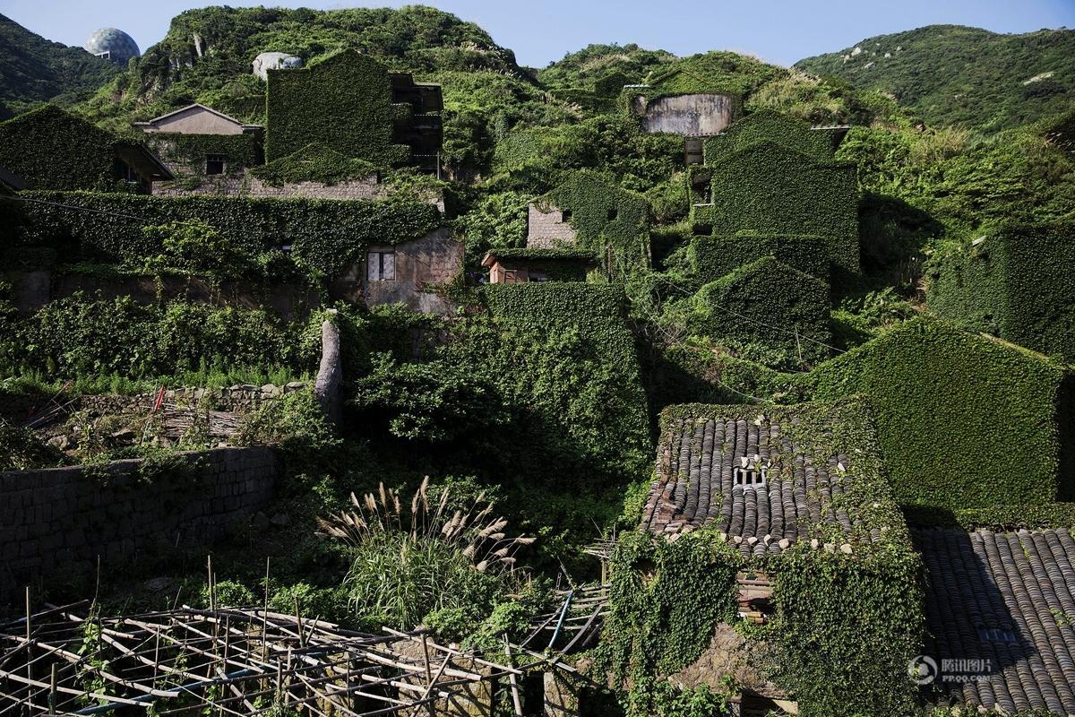 浙江废弃海岛如童话世界 远离喧嚣仅有少量居民