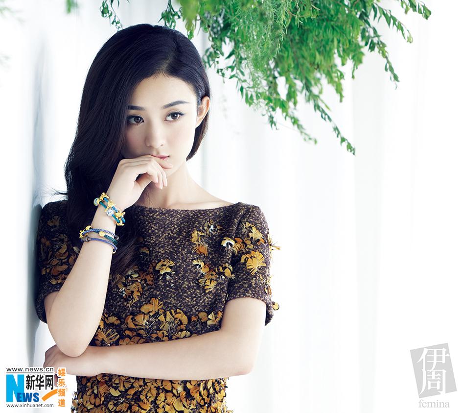 """赵丽颖封面大片曝光 """"霸屏女王""""展成熟魅力图片"""