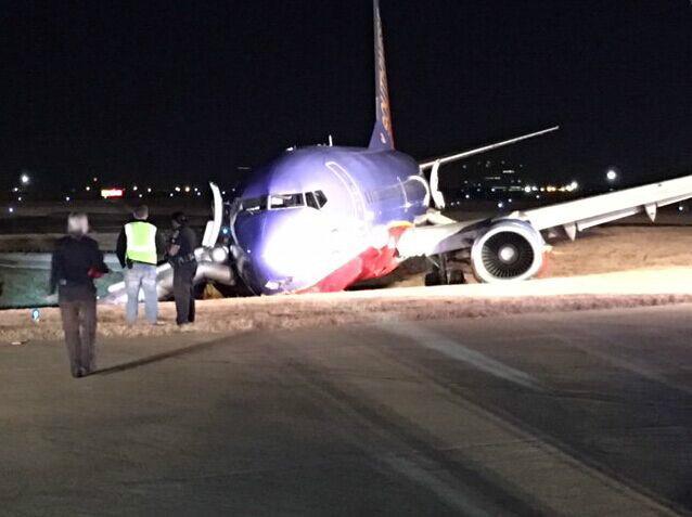 美国田纳西州一飞机紧急迫降
