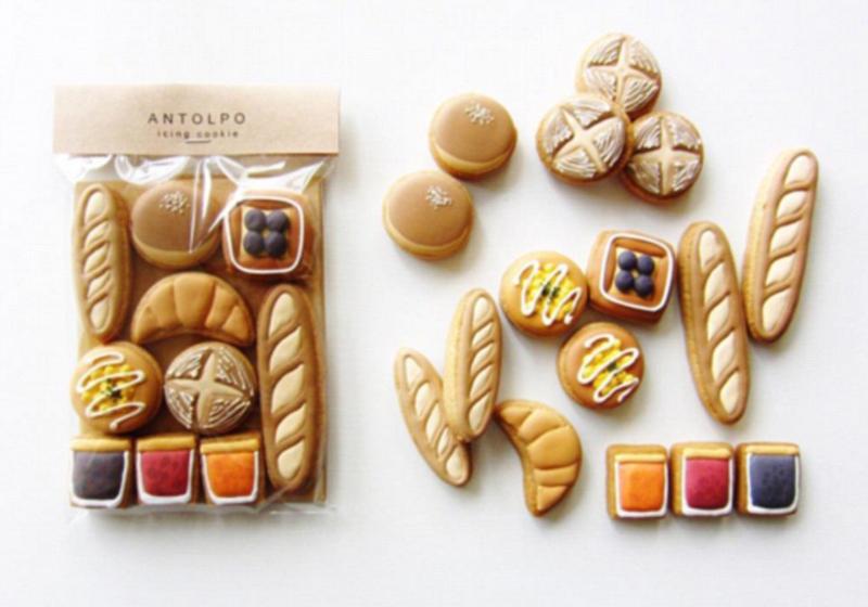 日糕点师做创意饼干 造型可爱萌翻网友