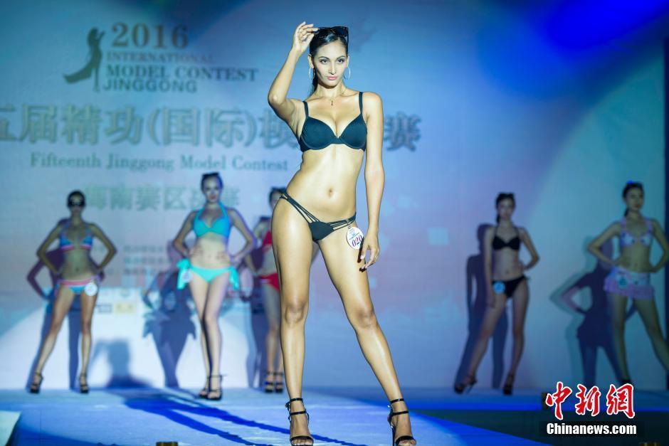2016精功模特大赛缤纷泳装秀