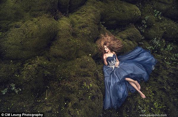 新人冰岛拍摄婚纱照 直升机实力抢镜[8]
