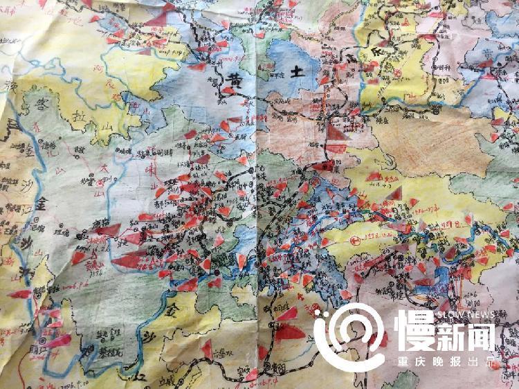 这样的手绘地图,超过100张