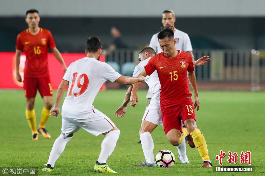 国际足球友谊赛巴西_2017国际足球友谊赛:中国0-2塞尔维亚[4]- 中国日报网