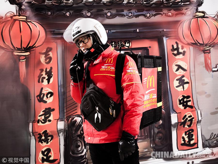 摄影师用镜头记录下的他们——春节不回家的北漂