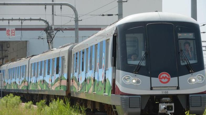 上海将首发迪士尼主题地铁列车